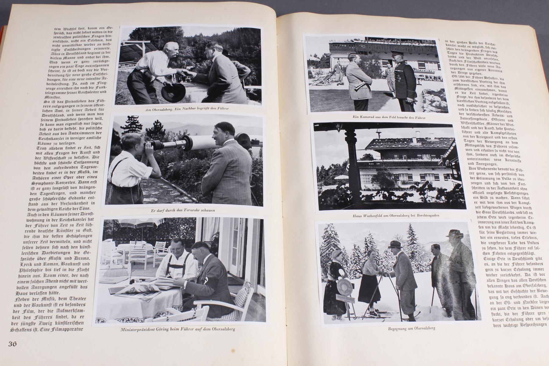 Sammelbilderalbum Adolf Hitler-3