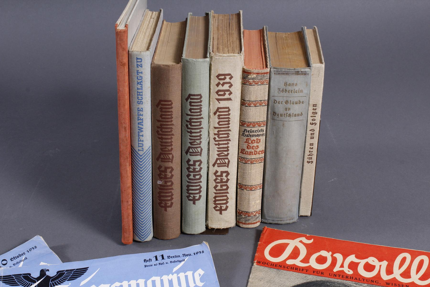 12 Bücher / Zeitschriften III. Reich-2