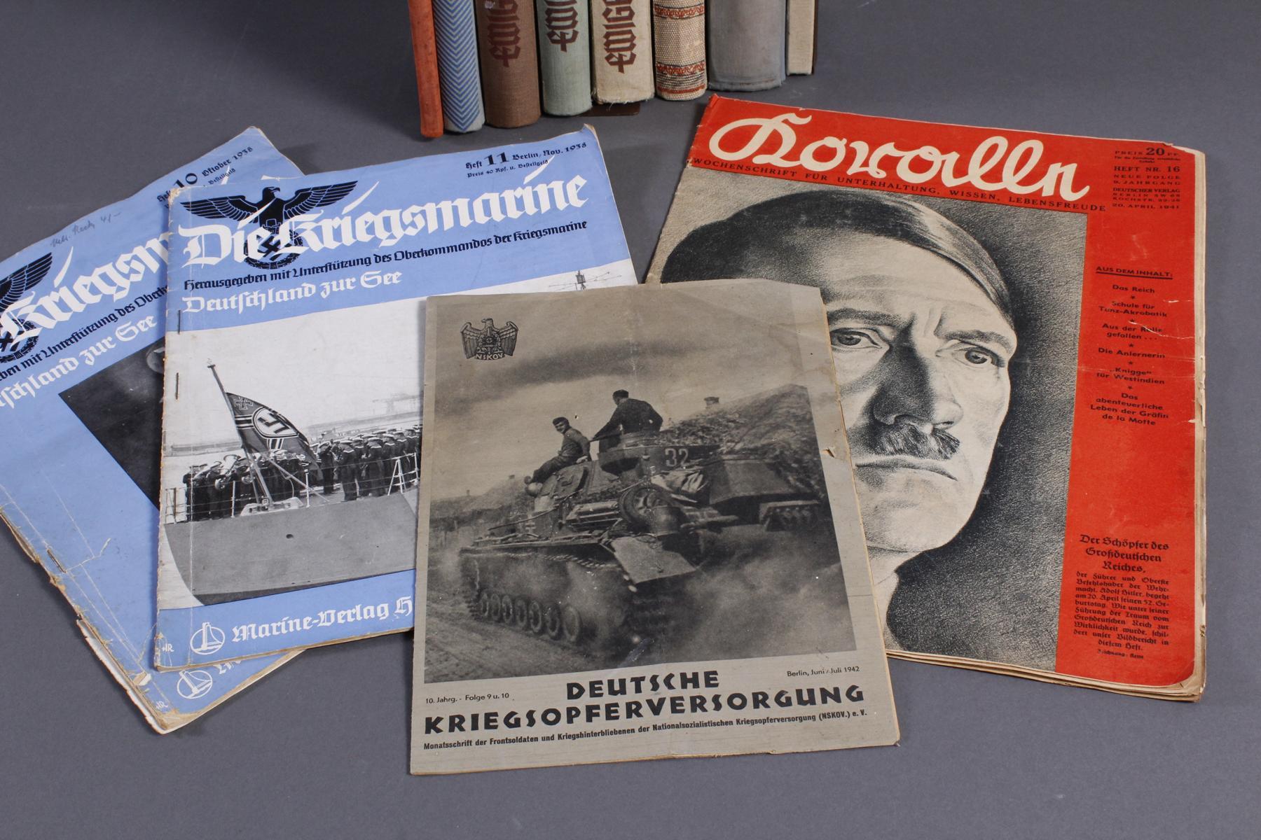 12 Bücher / Zeitschriften III. Reich-3