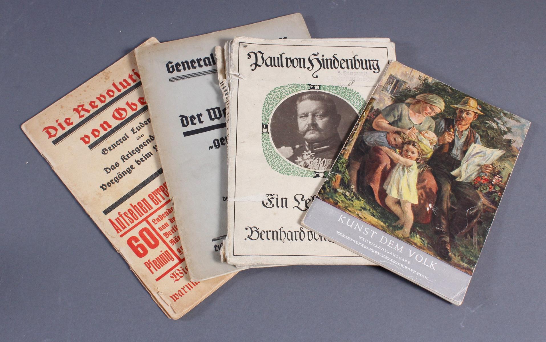 20 Bücher / Broschüren III. Reich-2