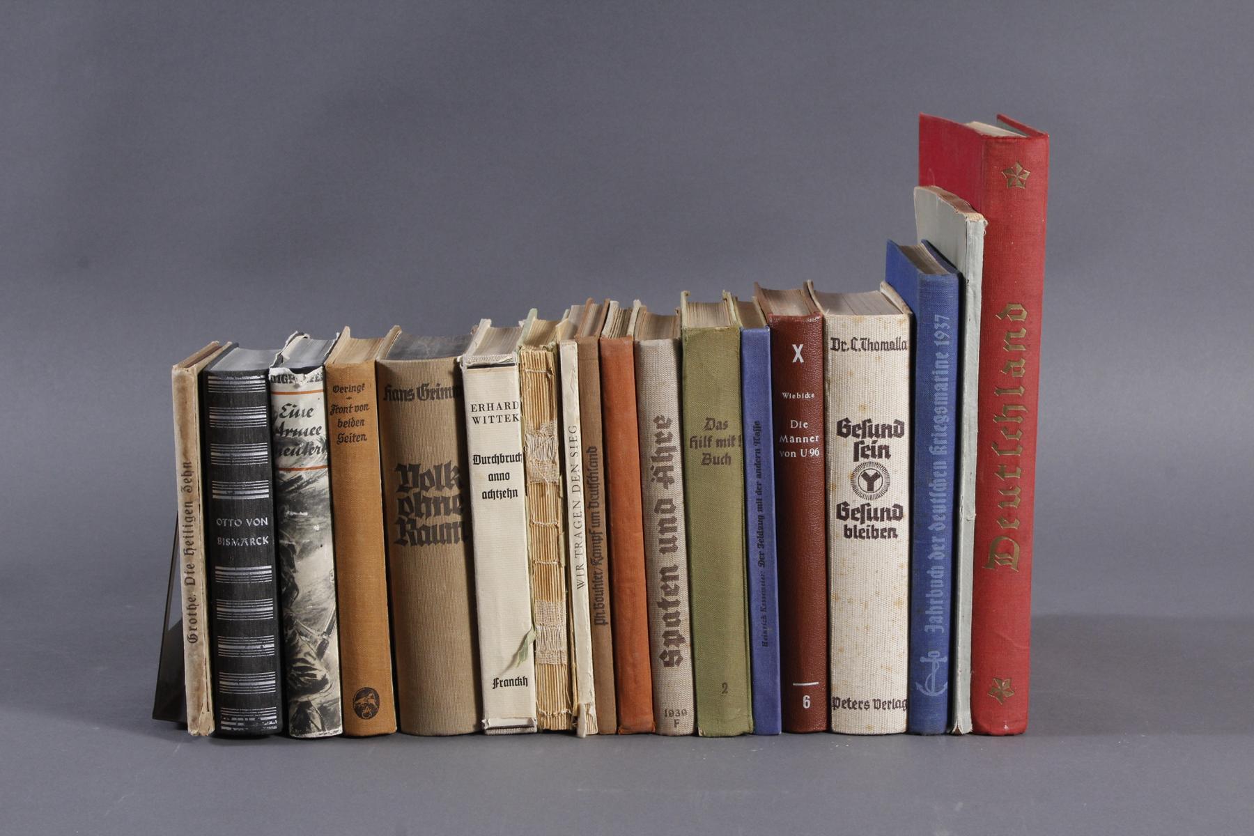 18 Bücher / Broschüren III. Reich