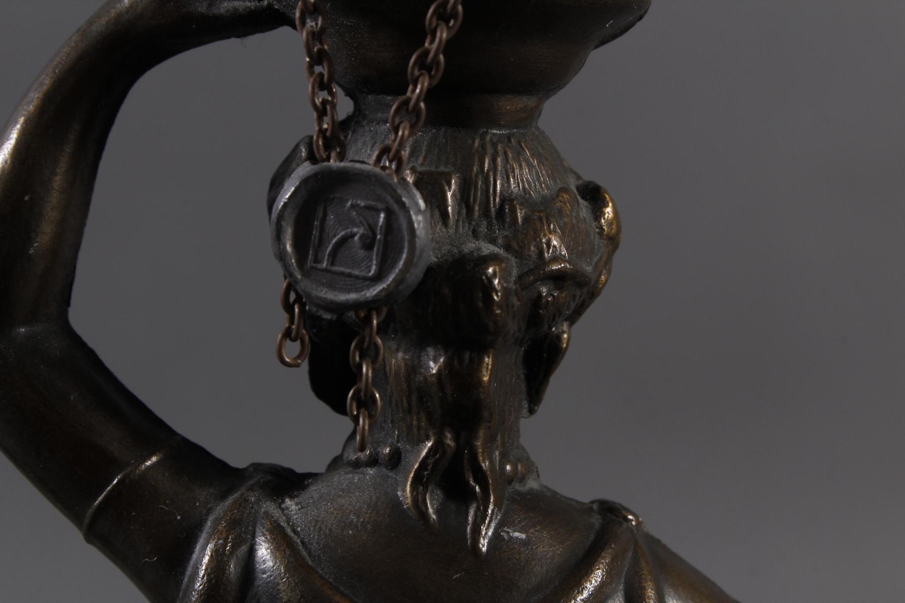 Tischlampe im Tiffany-Stil, 2. Hälfte 20. Jh.-3