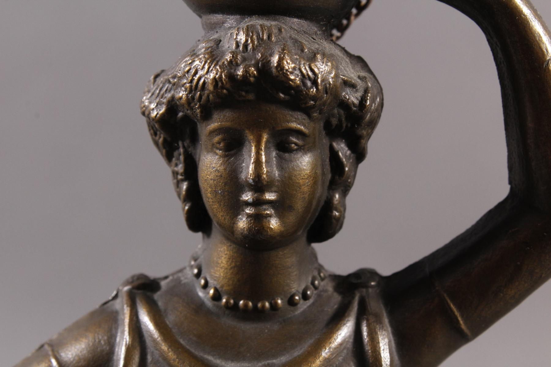 Tischlampe im Tiffany-Stil, 2. Hälfte 20. Jh.-4