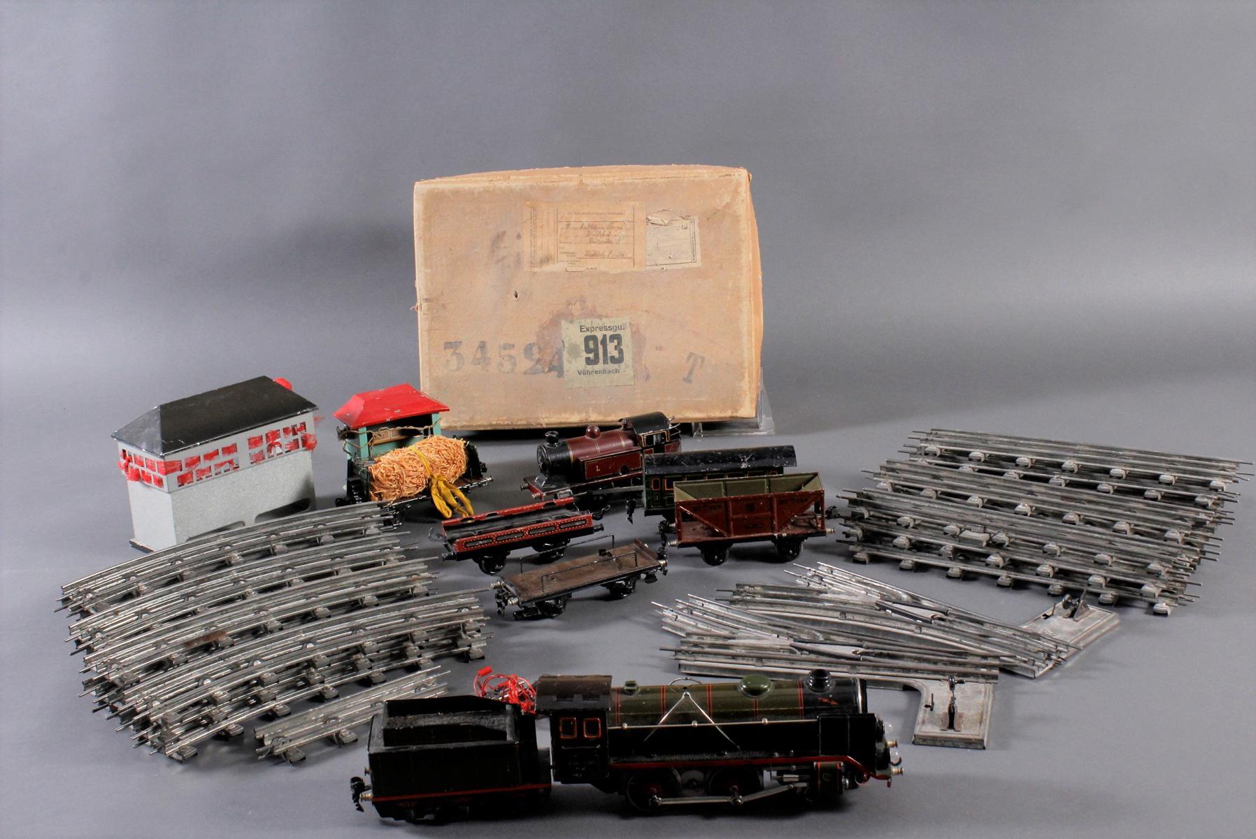 Märklin Eisenbahn Spur H0, elektrisch und Uhrwerkantrieb