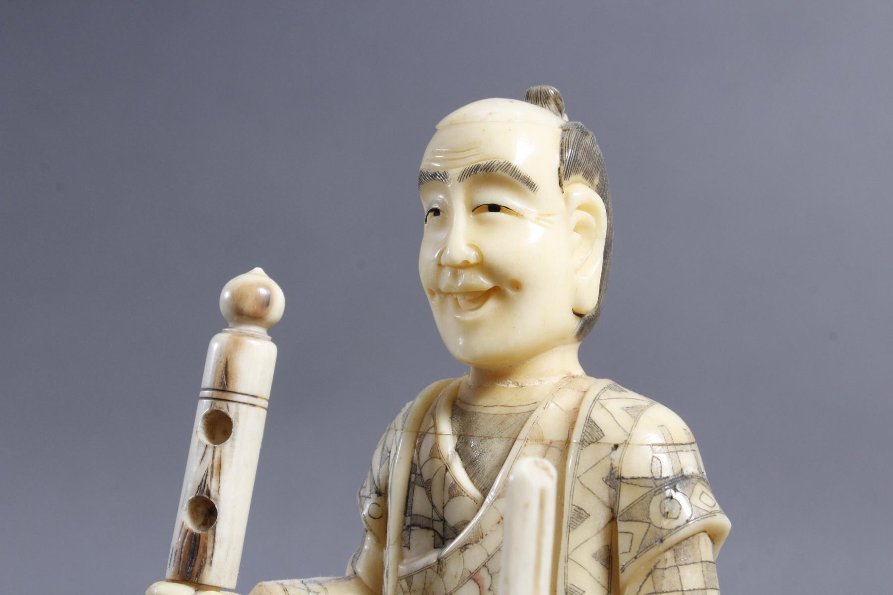 Beinfigur Japan, 1. Hälfte 20. Jahrhundert-3