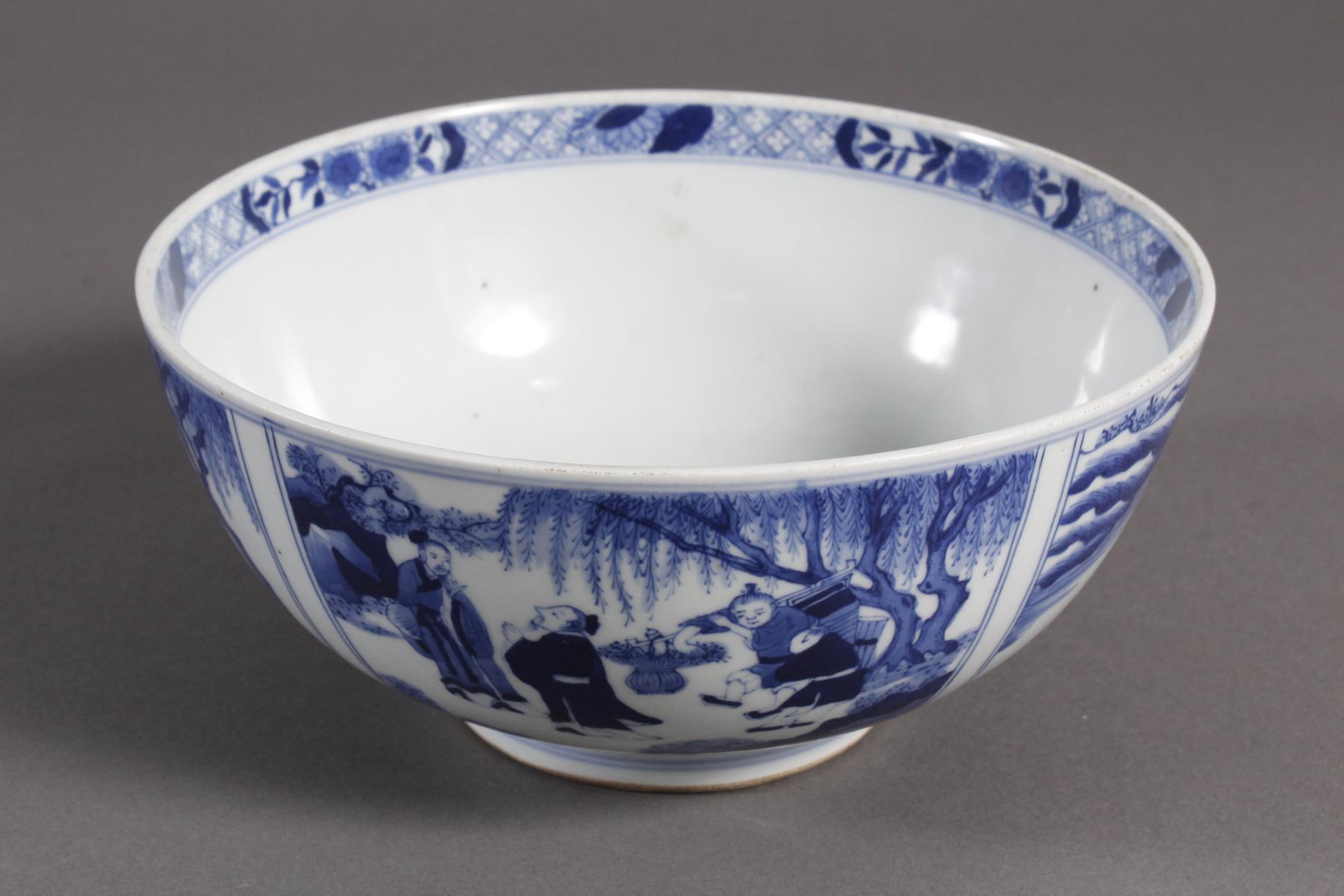 Porzellan-Kumme, China wohl 19. Jahrhundert