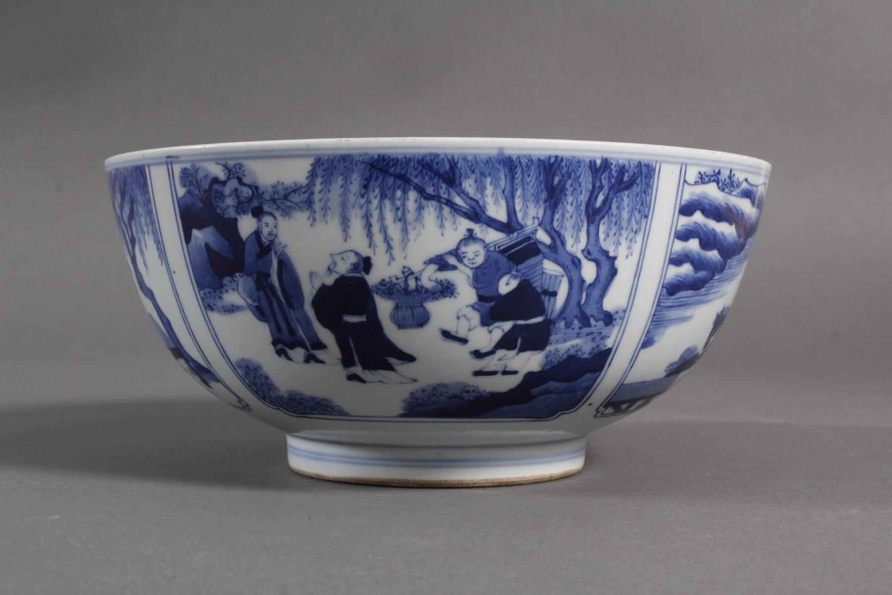 Porzellan-Kumme, China wohl 19. Jahrhundert-3