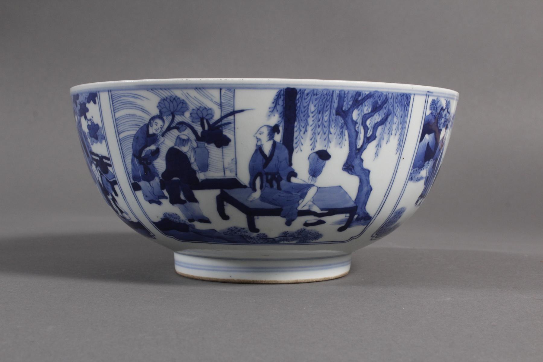 Porzellan-Kumme, China wohl 19. Jahrhundert-4