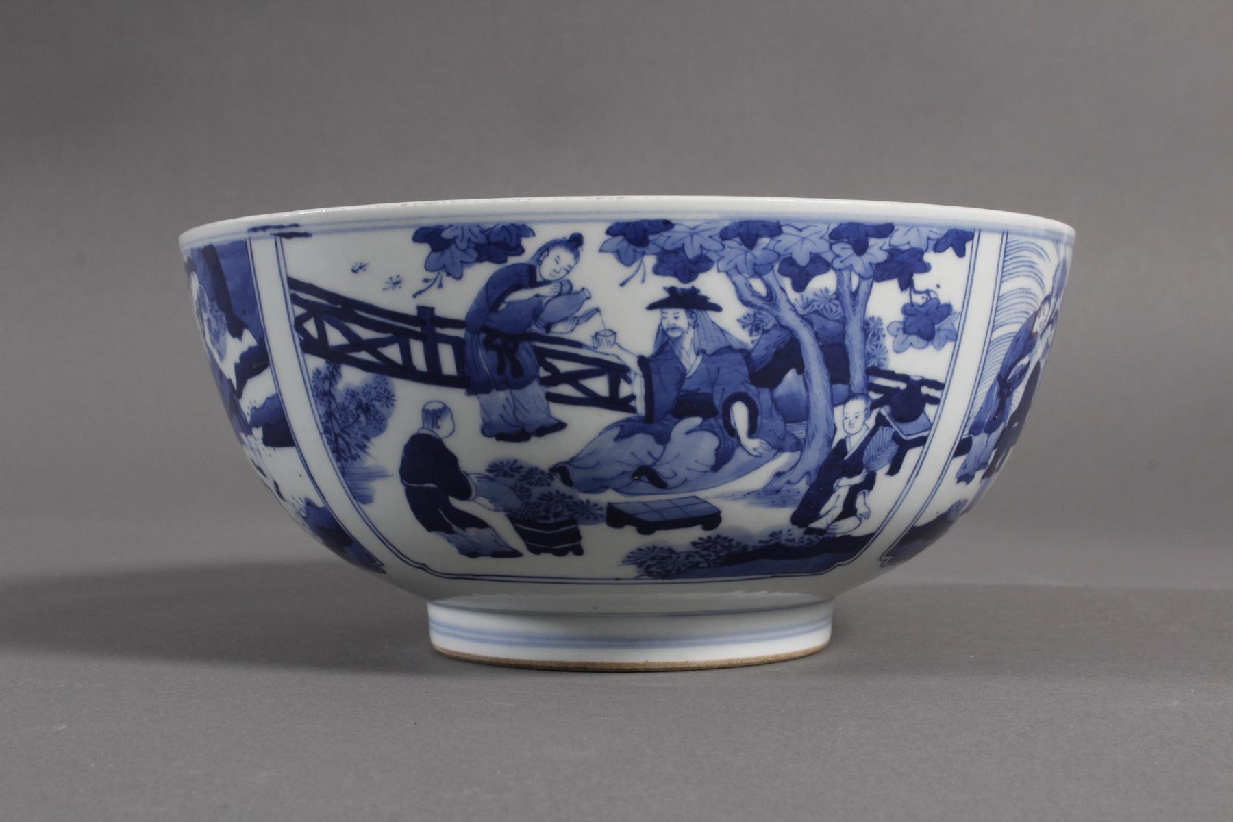 Porzellan-Kumme, China wohl 19. Jahrhundert-5
