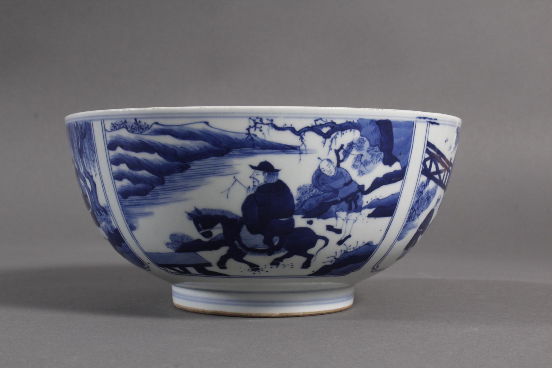 Porzellan-Kumme, China wohl 19. Jahrhundert-6