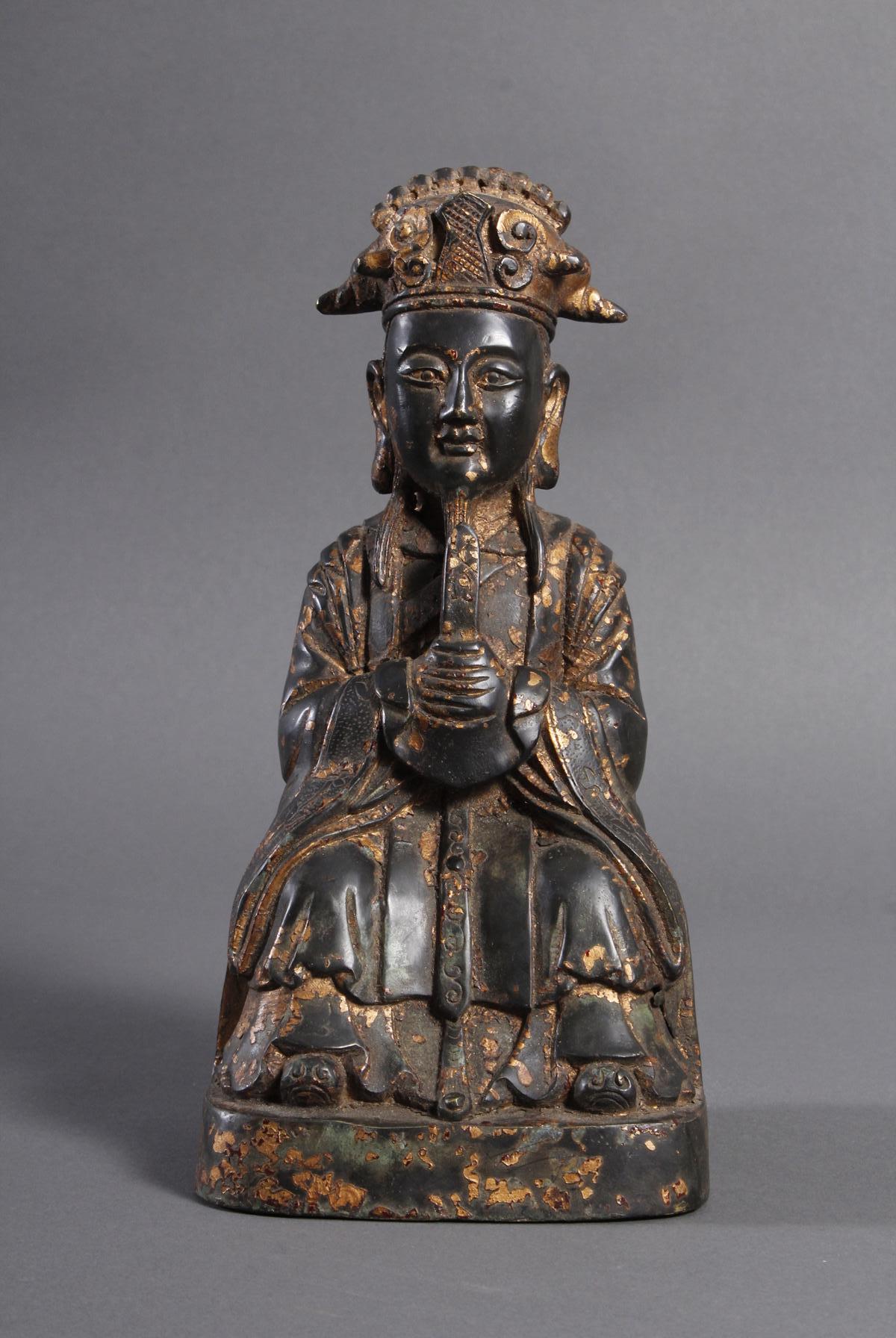 Bronze Buddha, China 19. / 20. Jahrhundert