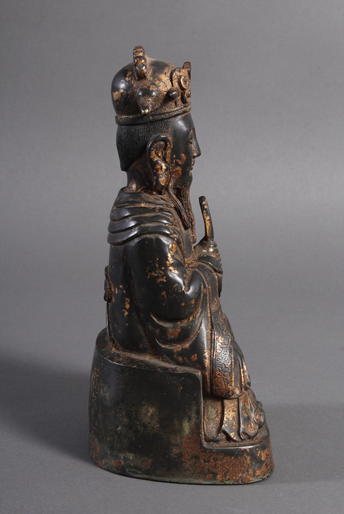 Bronze Buddha, China 19. / 20. Jahrhundert-2