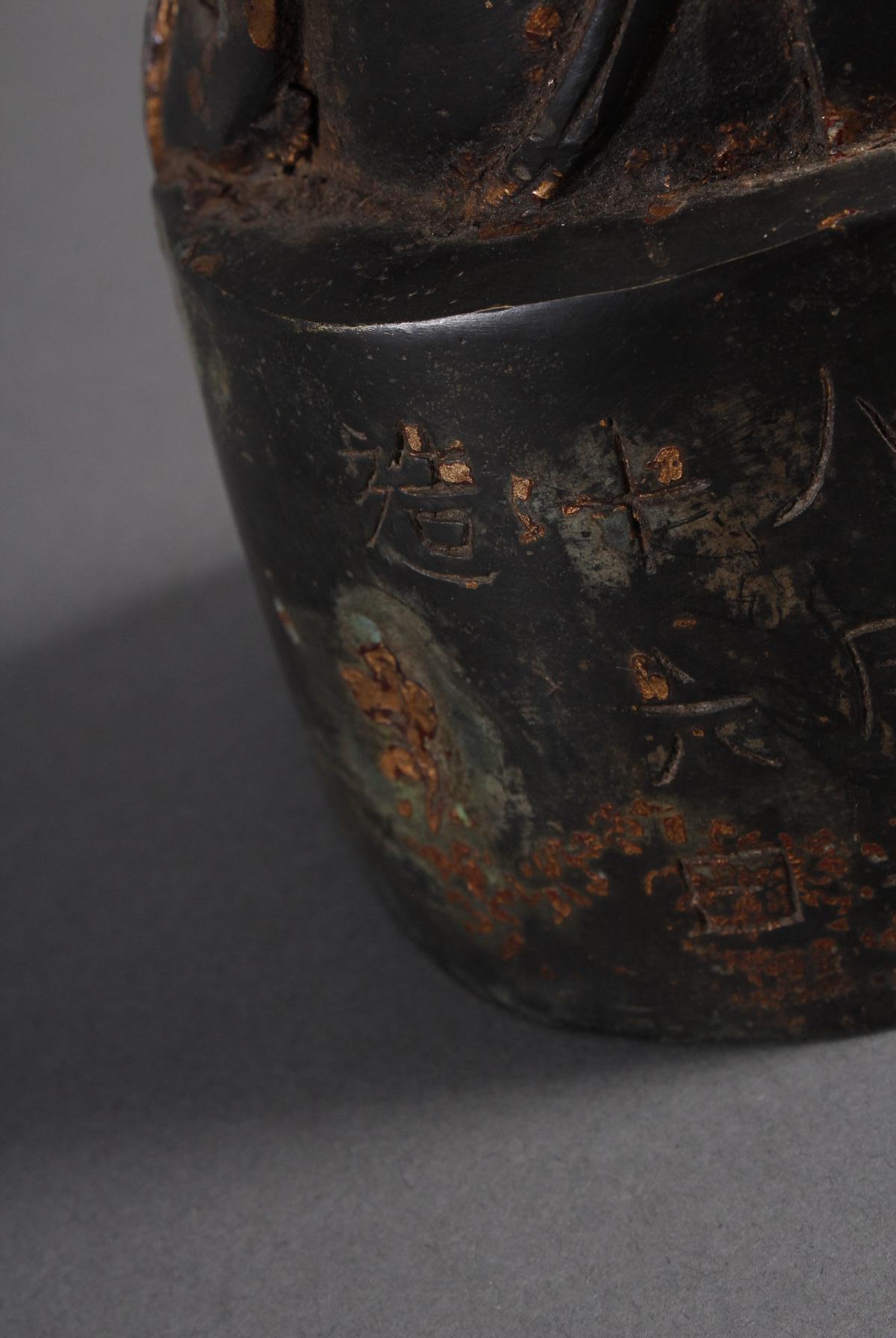Bronze Buddha, China 19. / 20. Jahrhundert-7