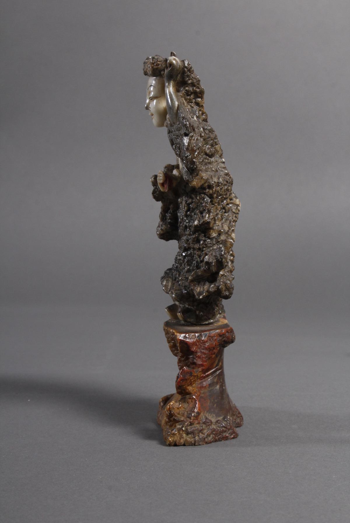 Specksteinfigur, China wohl 18. Jahrhundert-2