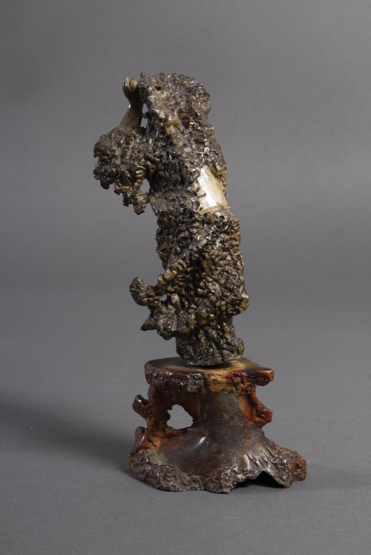 Specksteinfigur, China wohl 18. Jahrhundert-3