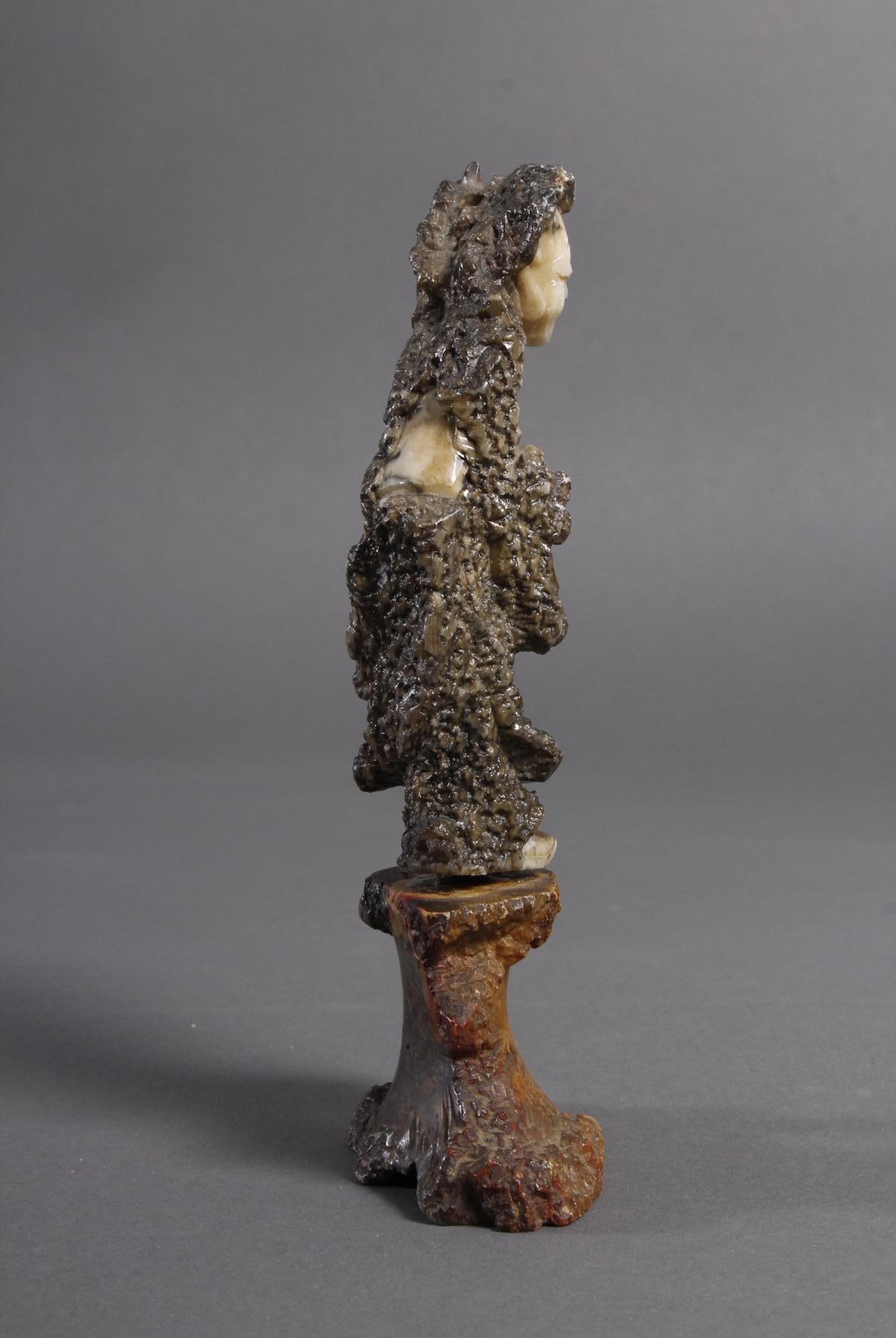 Specksteinfigur, China wohl 18. Jahrhundert-4