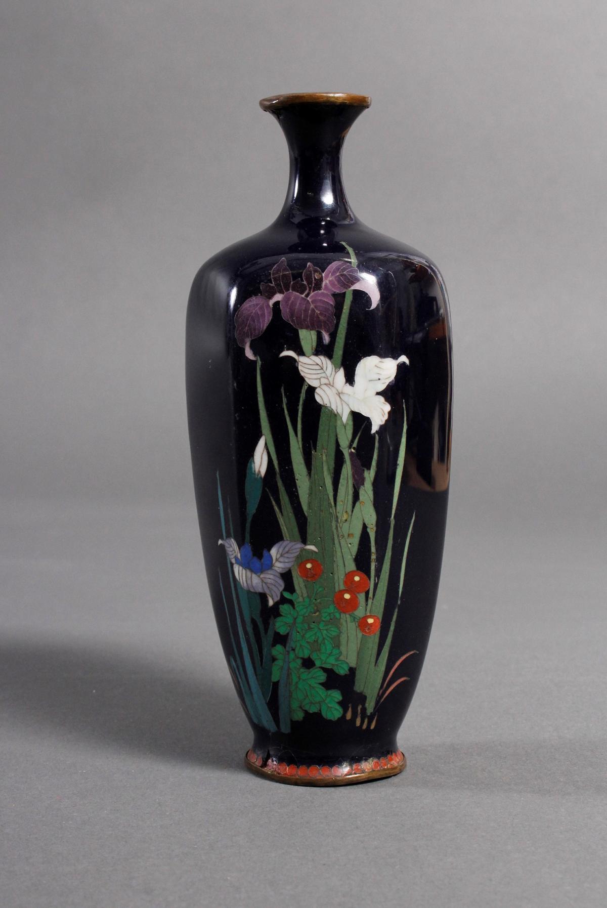 Silbersteg Cloisonné, Japan, Meiji Periode