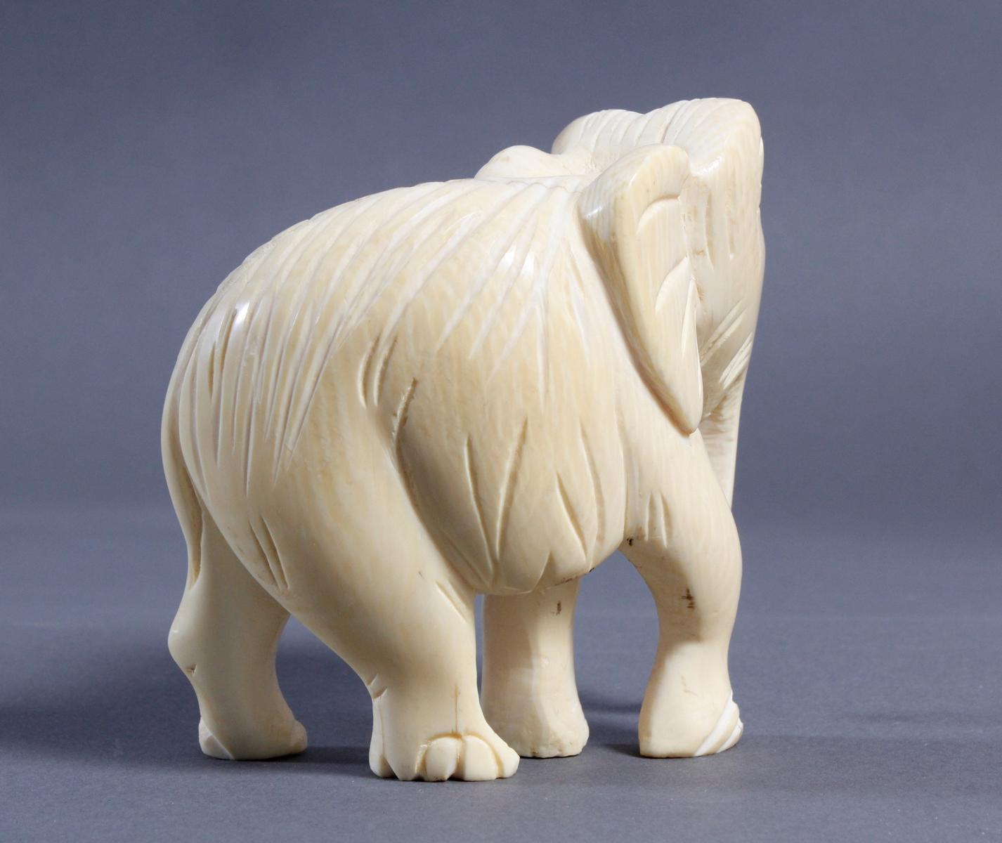 Elfenbein Elefant, Afrika um 1930-2