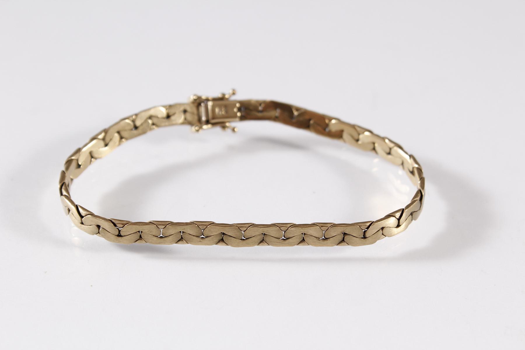 Damen-Armband, 8 Karat Gelbgold