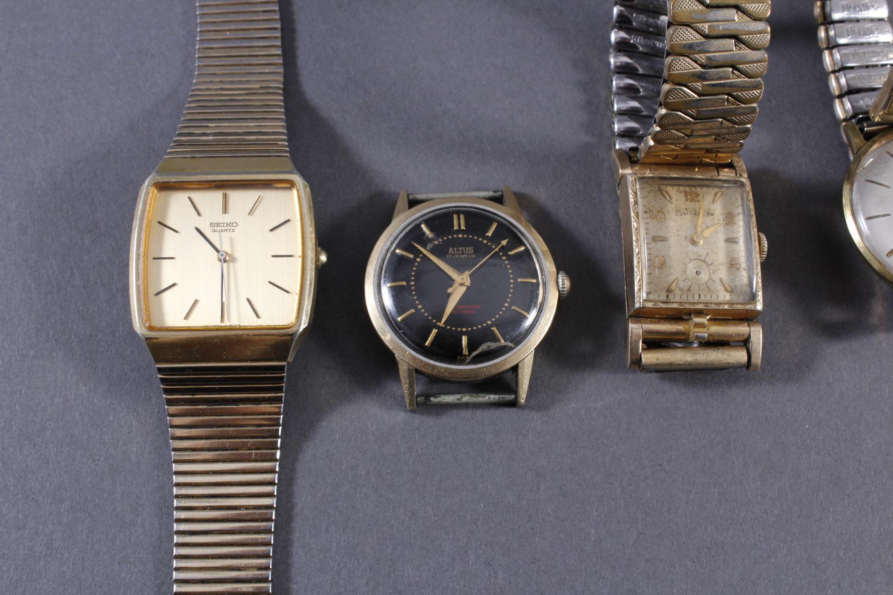 Konvolut Armbanduhren-2