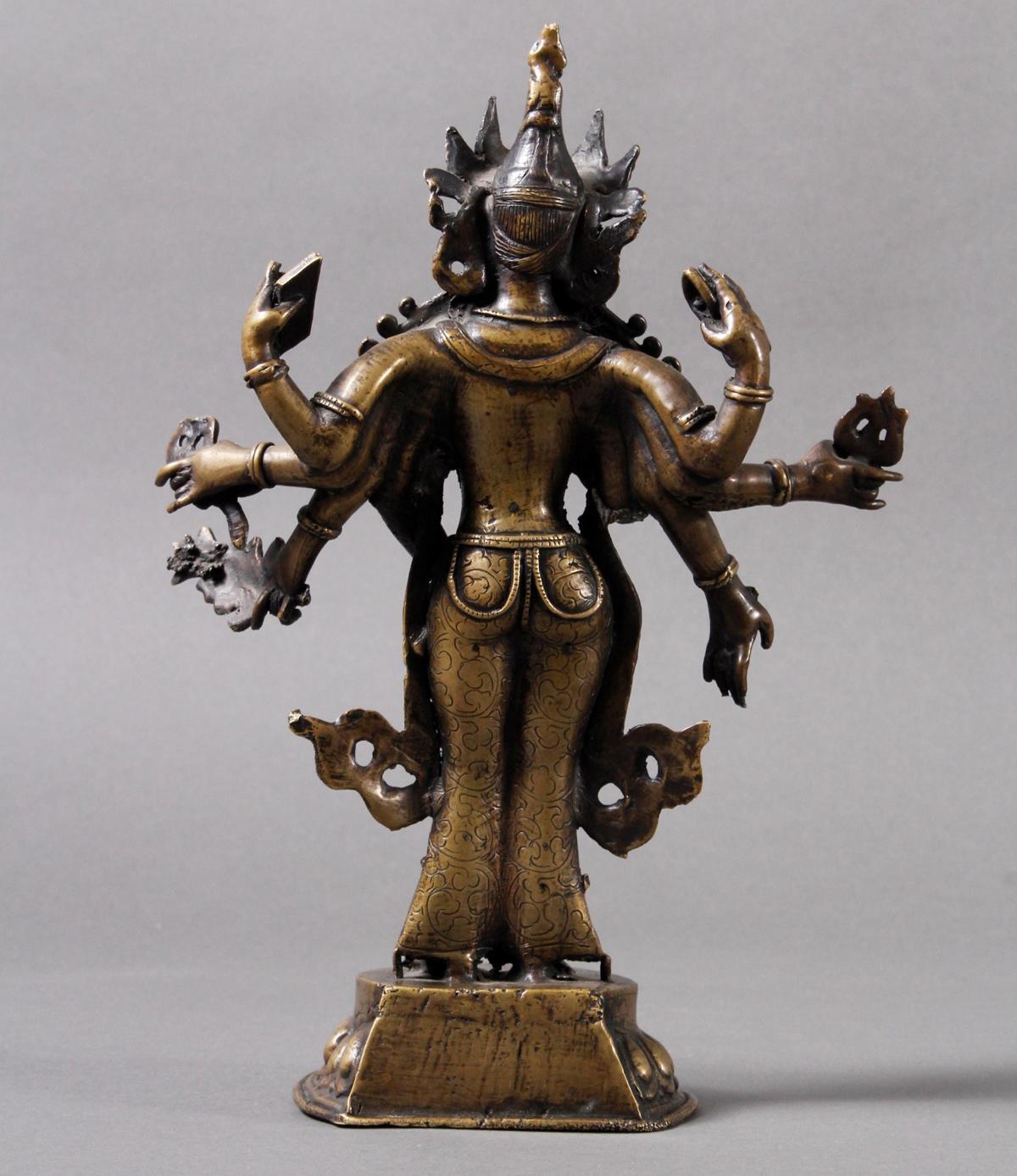 Buddha, Tibet 18. / 19. Jahrhundert-4