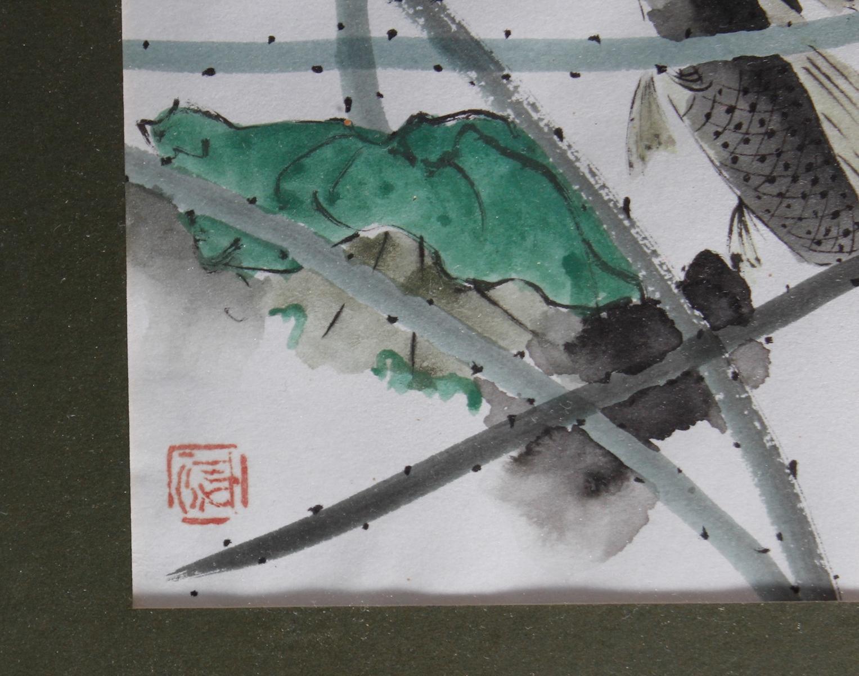 Aquarell, China, Mitte 20. Jahrhundert-4
