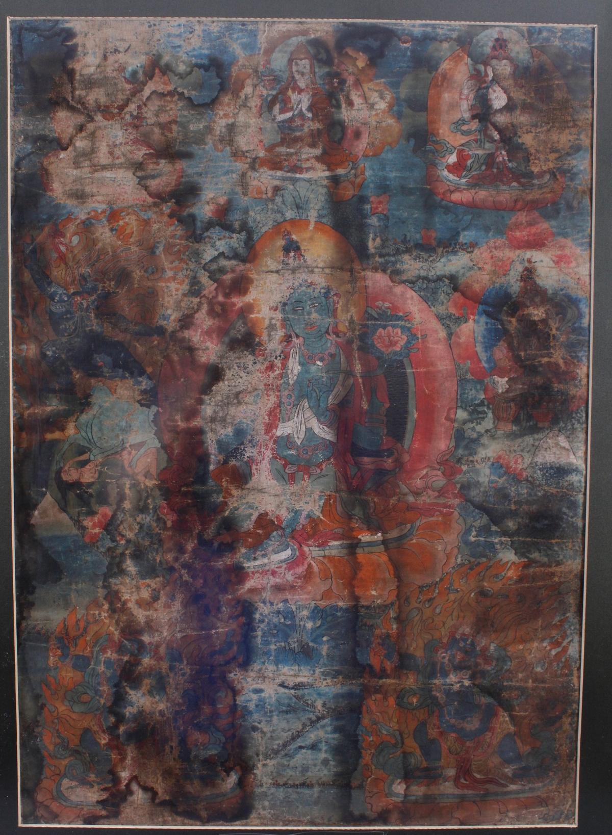 Tanga, Tibet 18. / 19. Jahrhundert-2