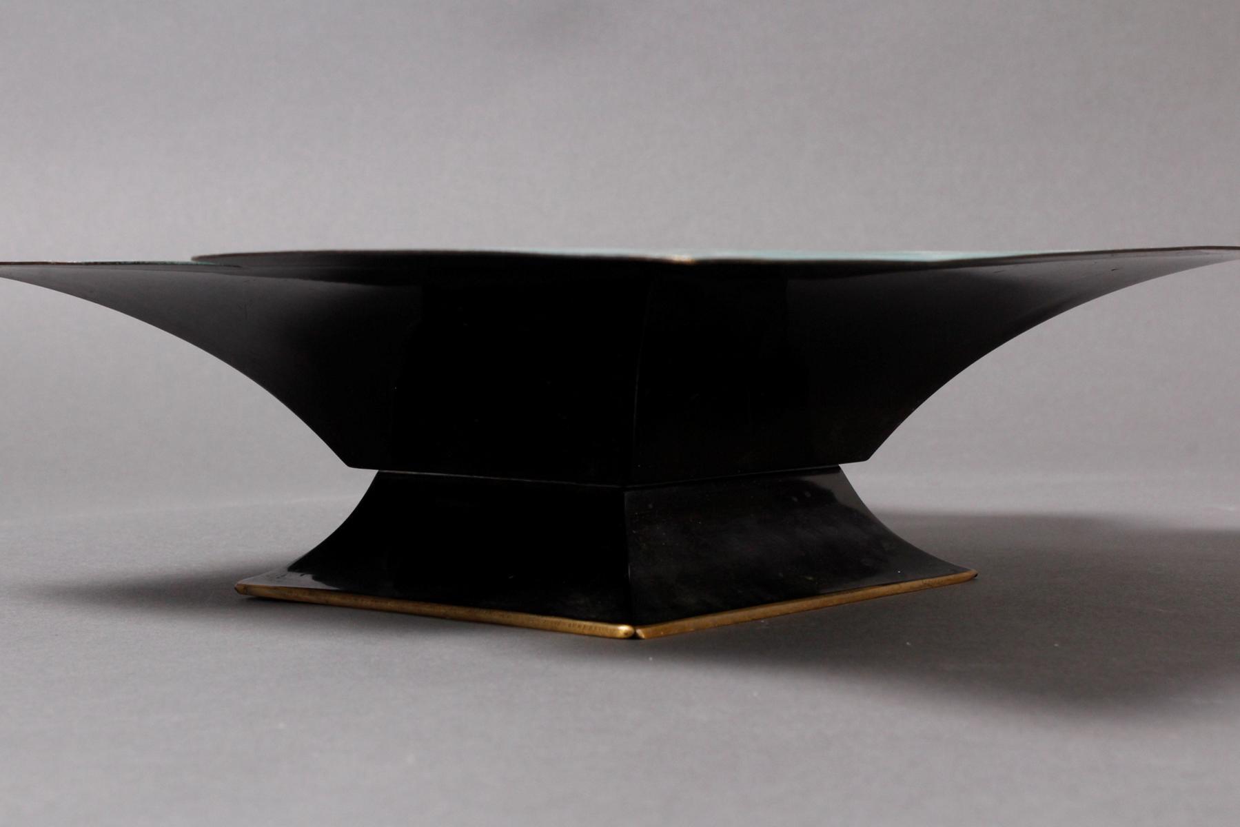 Messingzierschale WMF Ikora um 1925, Paul Haustein-3