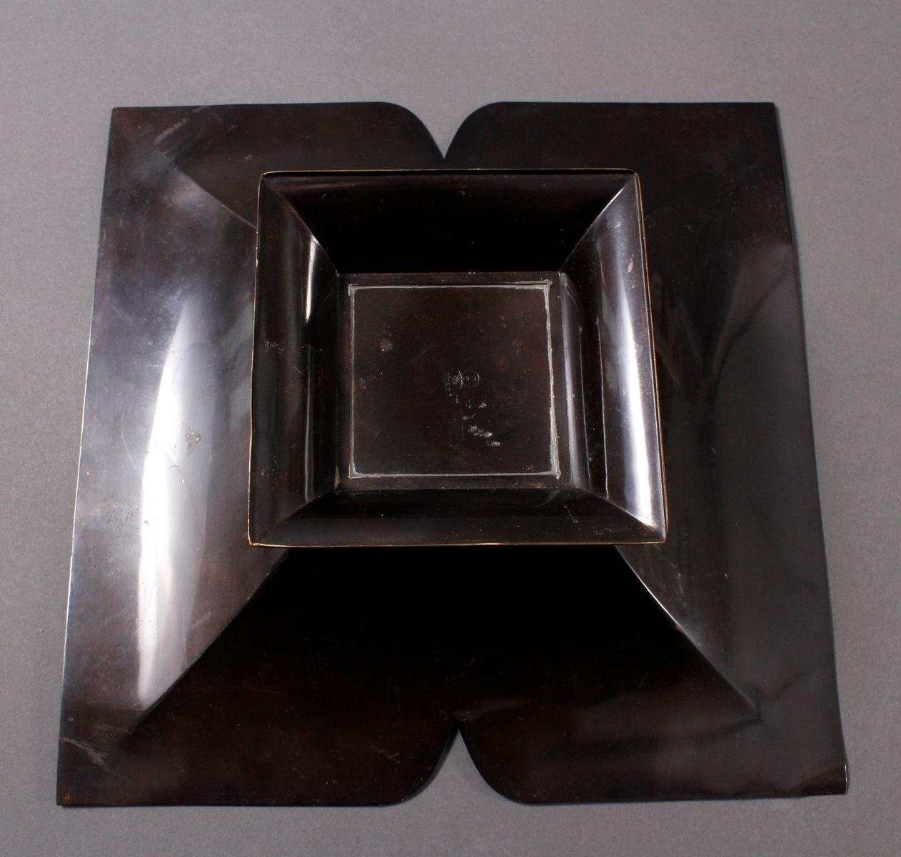 Messingzierschale WMF Ikora um 1925, Paul Haustein-4