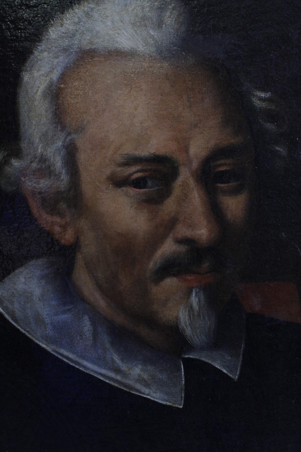 Portrait eines feinen Herren, 18. Jahrhundert, wohl flämisch-3