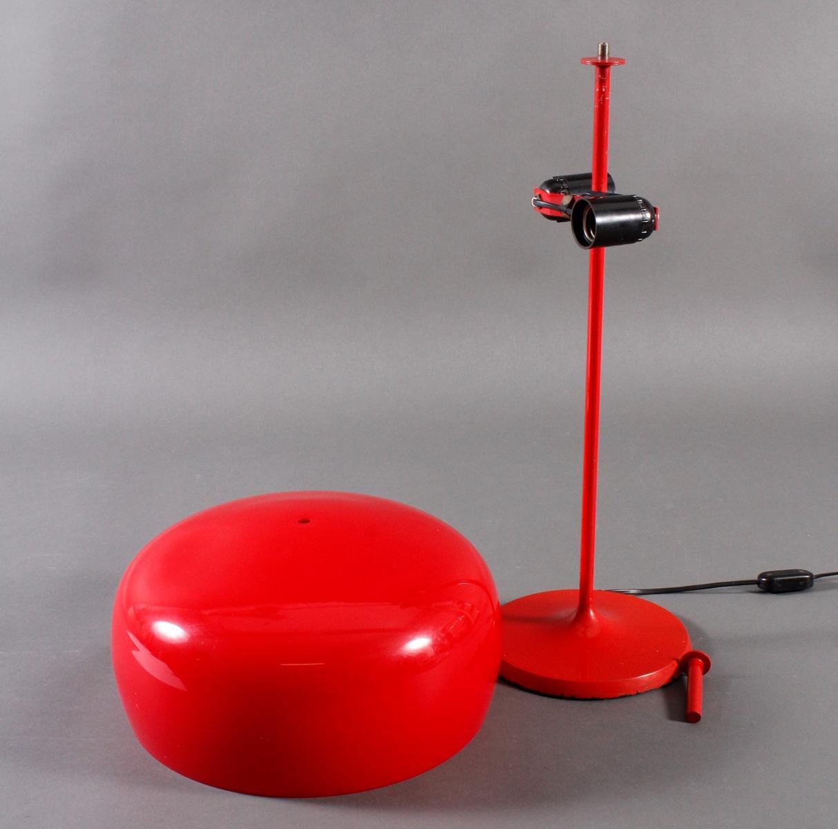 Designer Tischlampe aus den 70er Jahren,-2