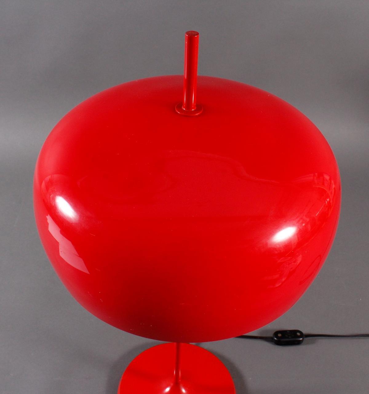 Designer Tischlampe aus den 70er Jahren,-4