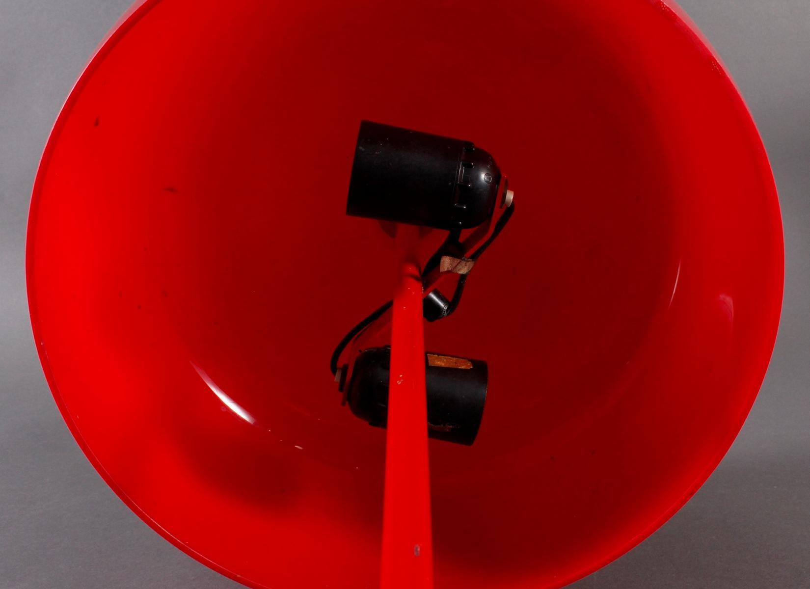 Designer Tischlampe aus den 70er Jahren,-6