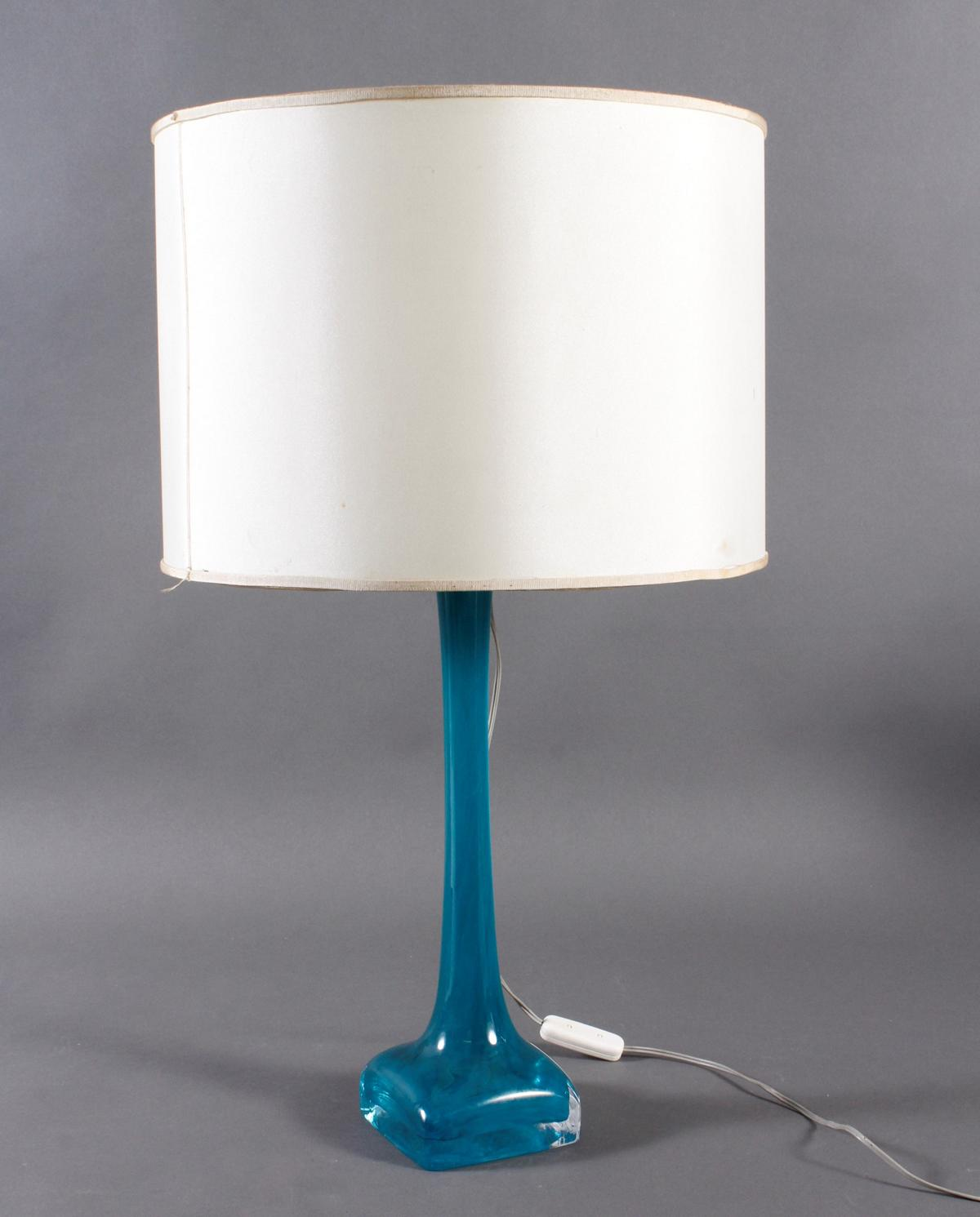 Daum France Tischlampe aus den ca. 60er Jahren
