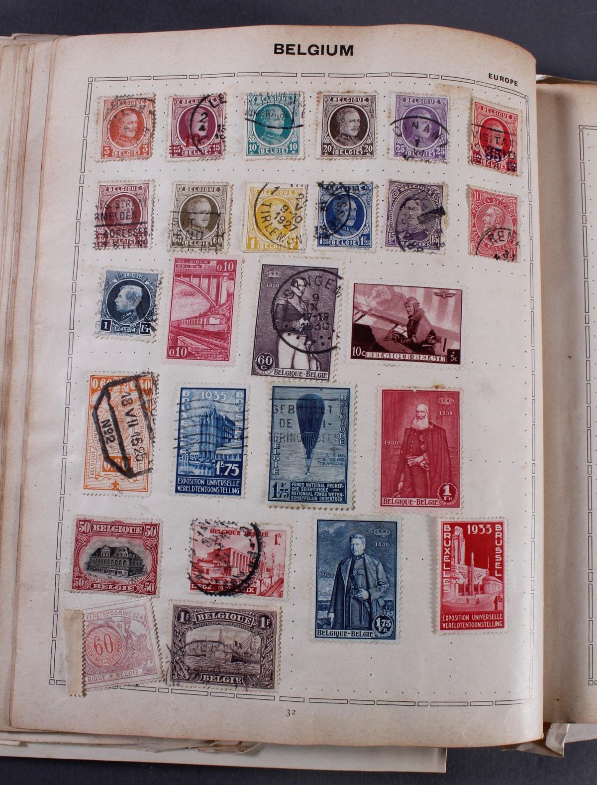 Kleines Briefmarkenalbum THE TRIUMPH STAMP ALBUM-4