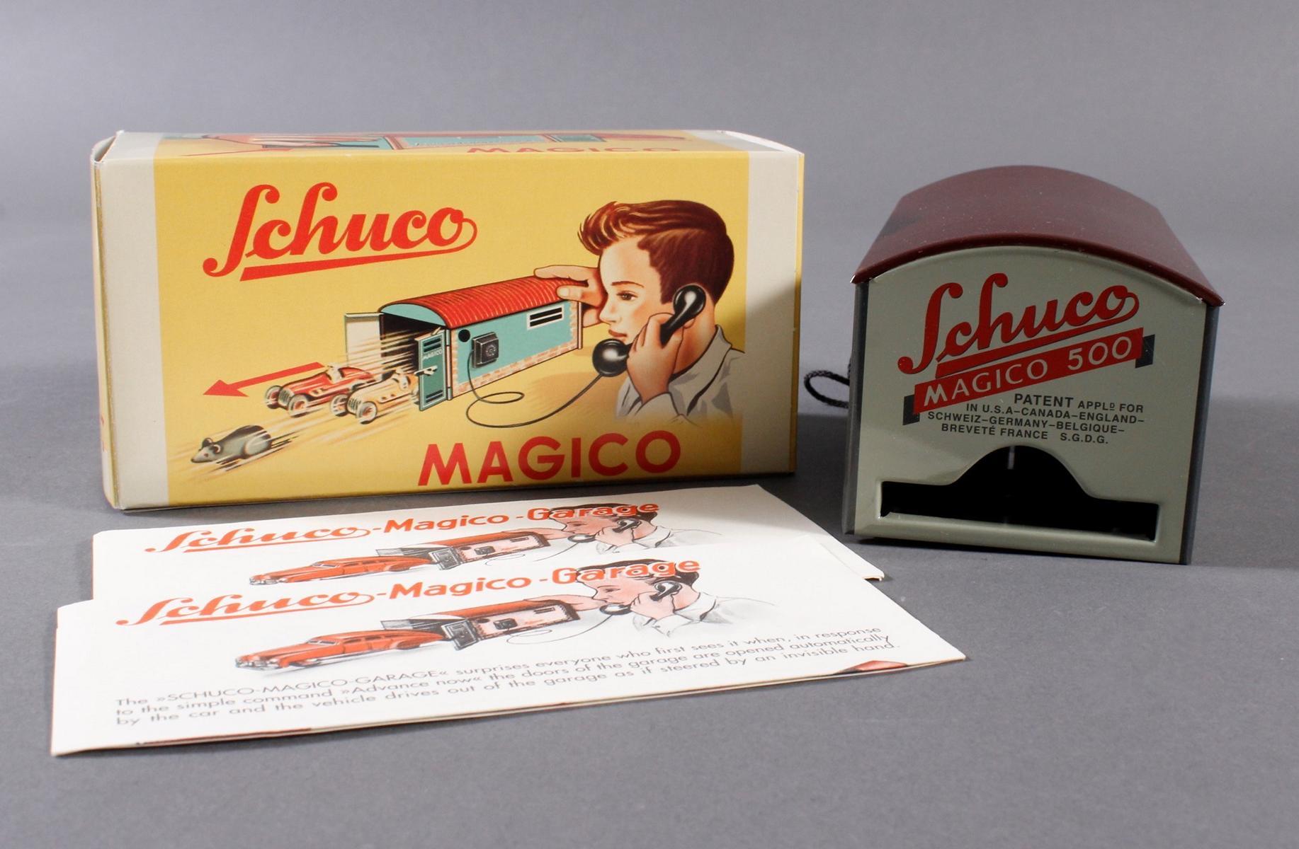 Schuco Garage Magico-4