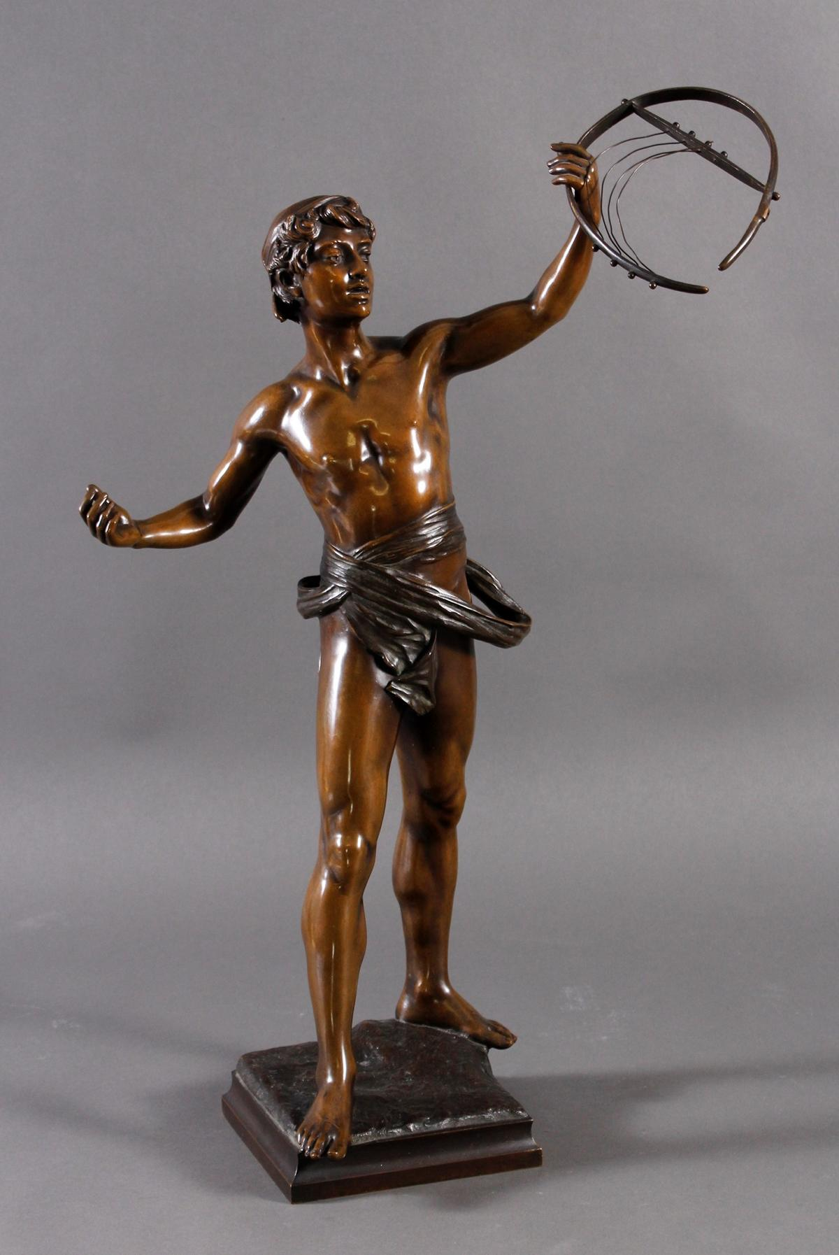 Eugène MARIOTON (1854-1933), Bronze-Skulptur