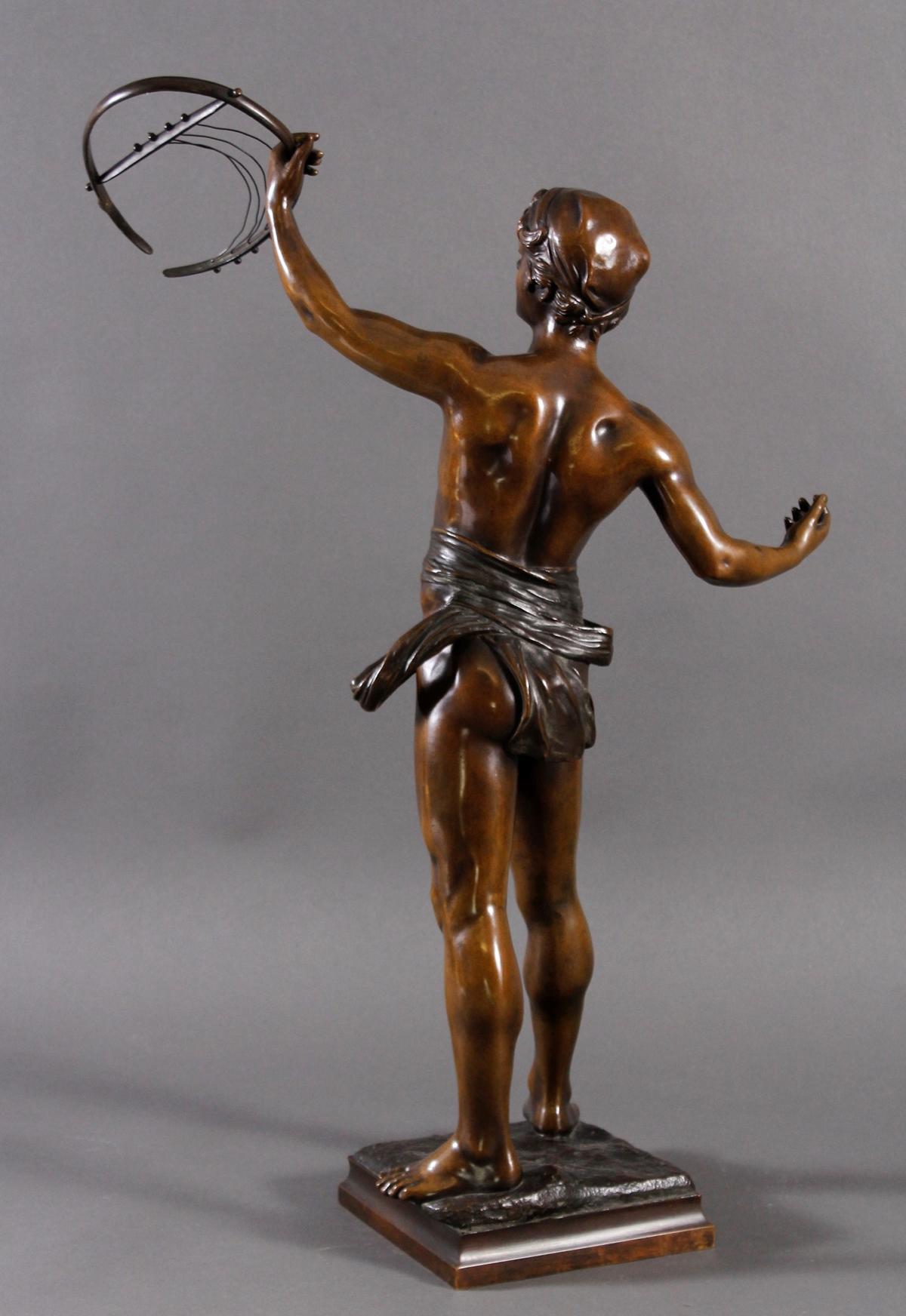 Eugène MARIOTON (1854-1933), Bronze-Skulptur-2