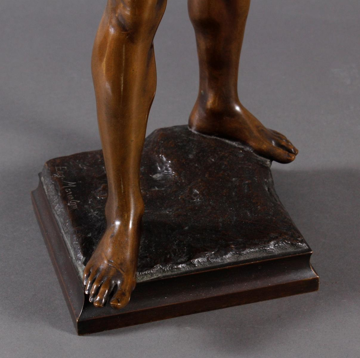 Eugène MARIOTON (1854-1933), Bronze-Skulptur-3