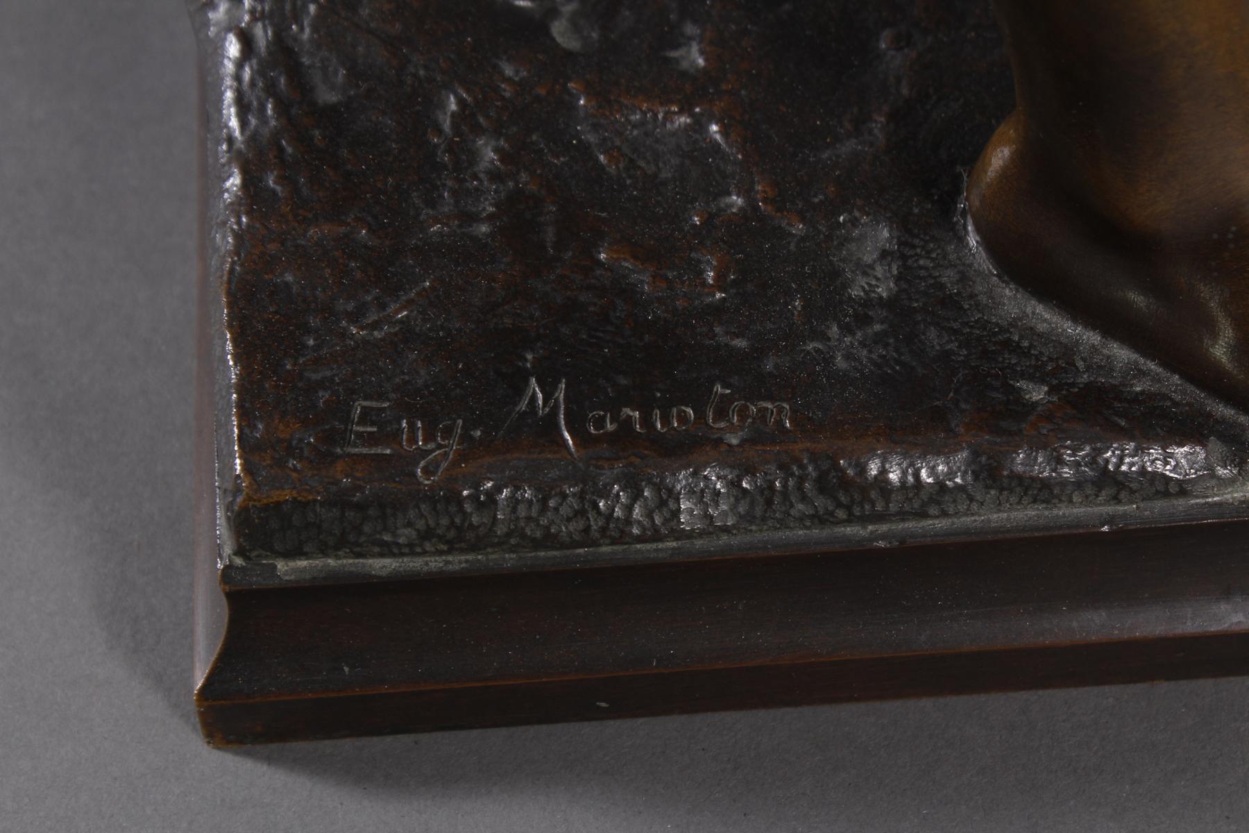 Eugène MARIOTON (1854-1933), Bronze-Skulptur-4