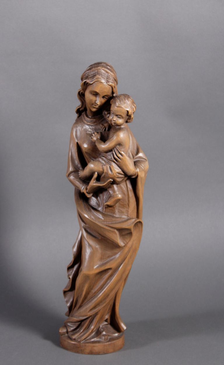 Madonna mit Kind, 2. Hälfte 20. Jh.