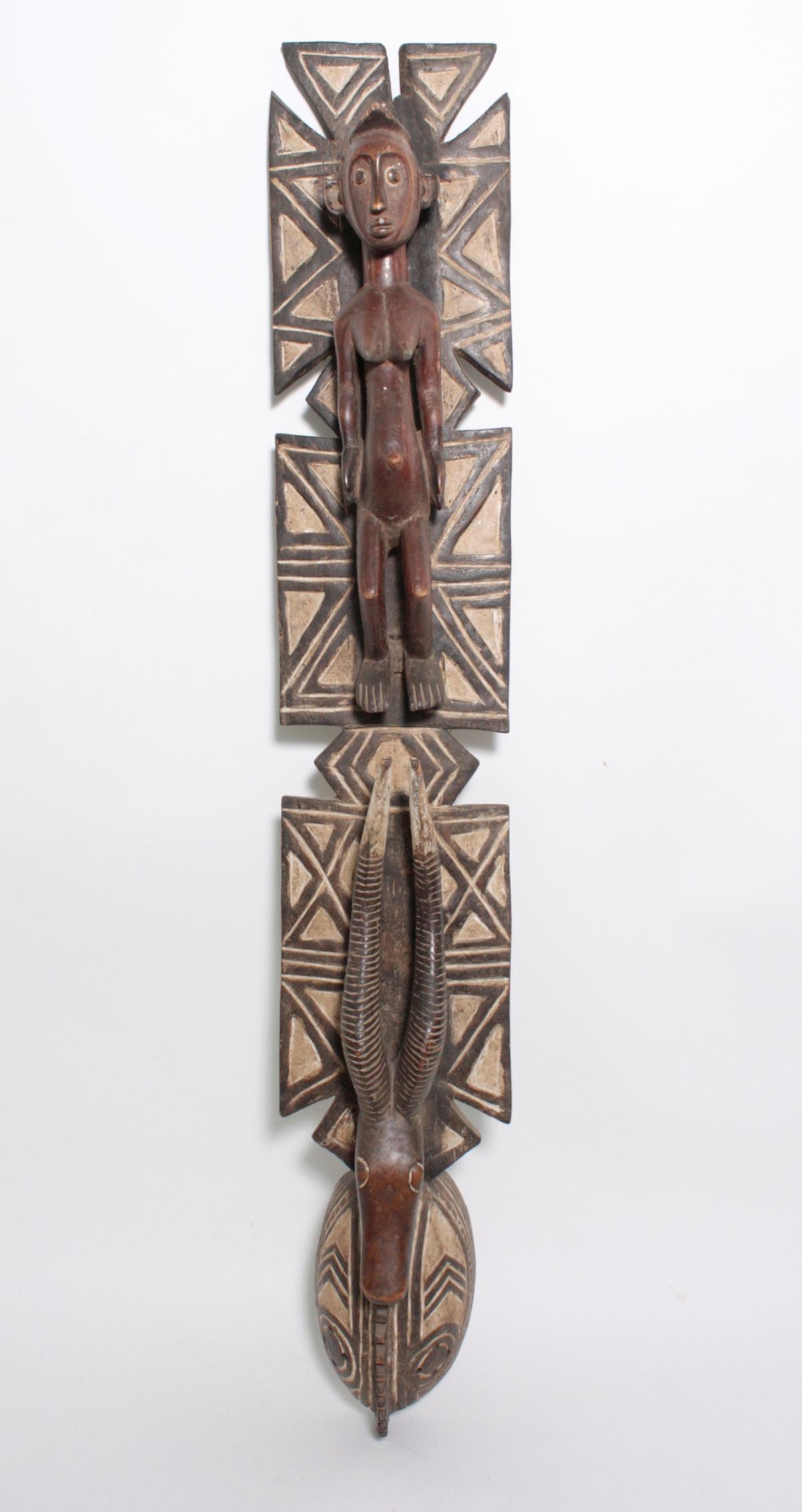 Aufsatz-Tanzmaske, Mossi, Burkina Faso, 1. Hälfte 20. Jh.