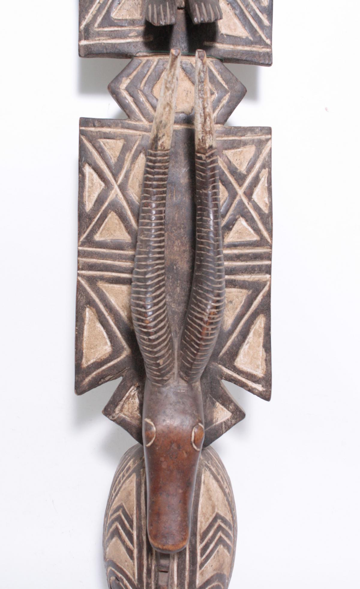 Aufsatz-Tanzmaske, Mossi, Burkina Faso, 1. Hälfte 20. Jh.-3