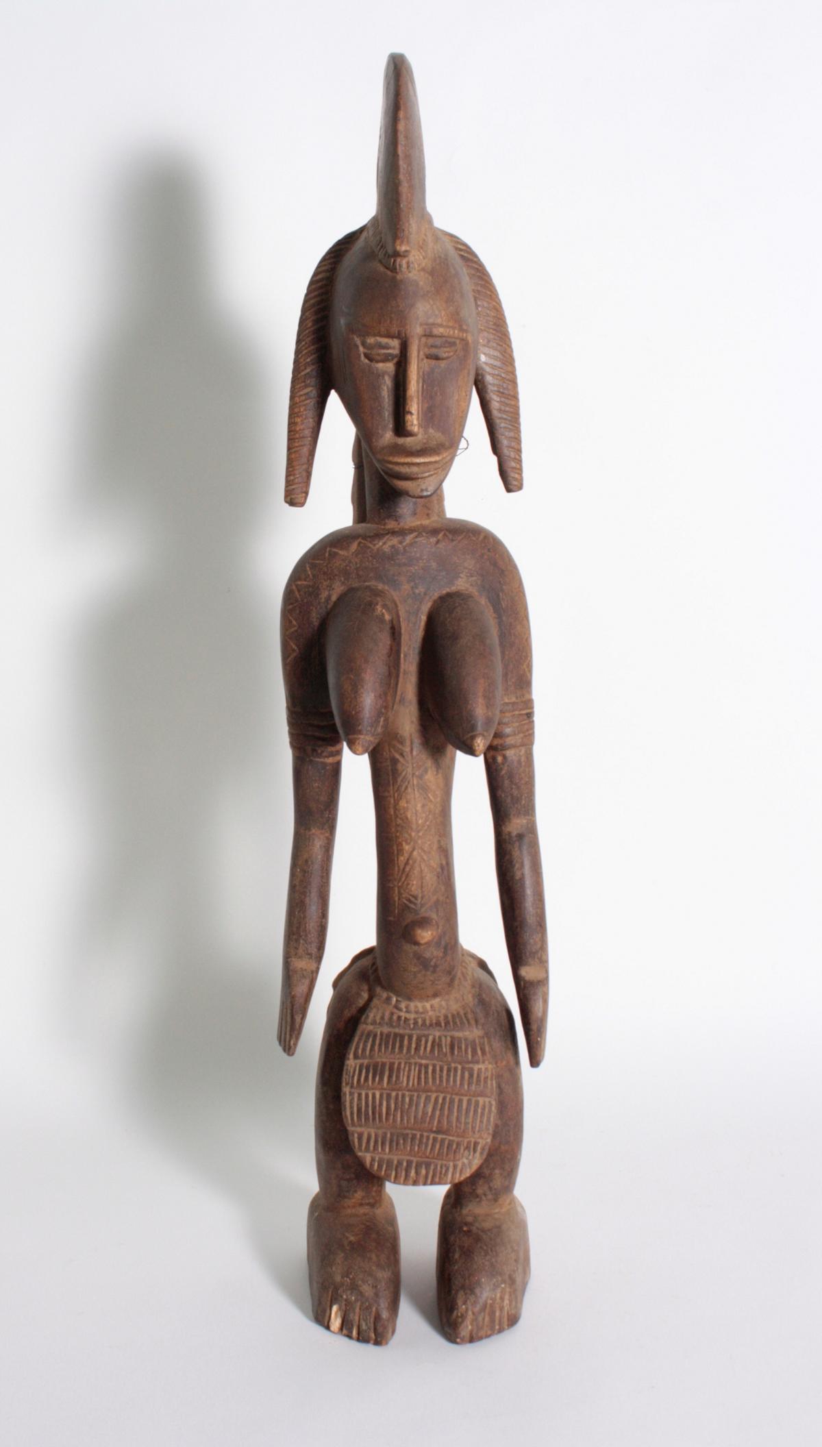 Stehende Frauenfigur, Senufo/Elfenbeinküste, 1. Hälfte 20. Jh.
