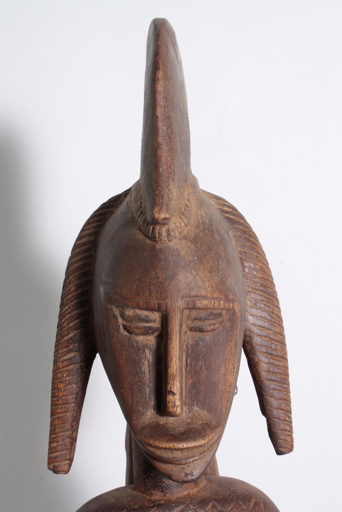 Stehende Frauenfigur, Senufo/Elfenbeinküste, 1. Hälfte 20. Jh.-2