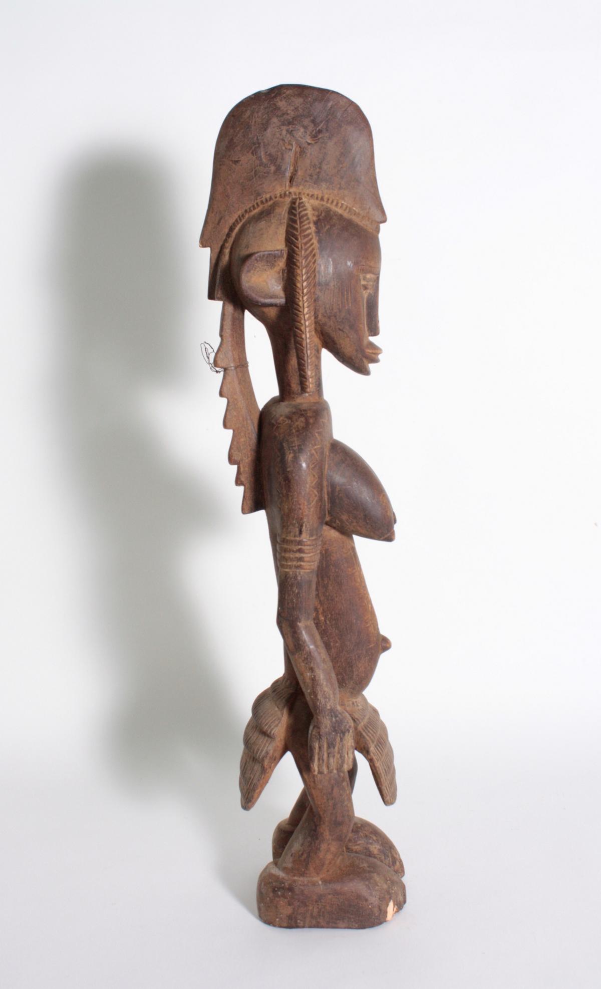 Stehende Frauenfigur, Senufo/Elfenbeinküste, 1. Hälfte 20. Jh.-3