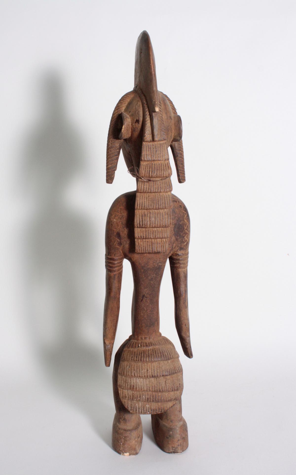 Stehende Frauenfigur, Senufo/Elfenbeinküste, 1. Hälfte 20. Jh.-4