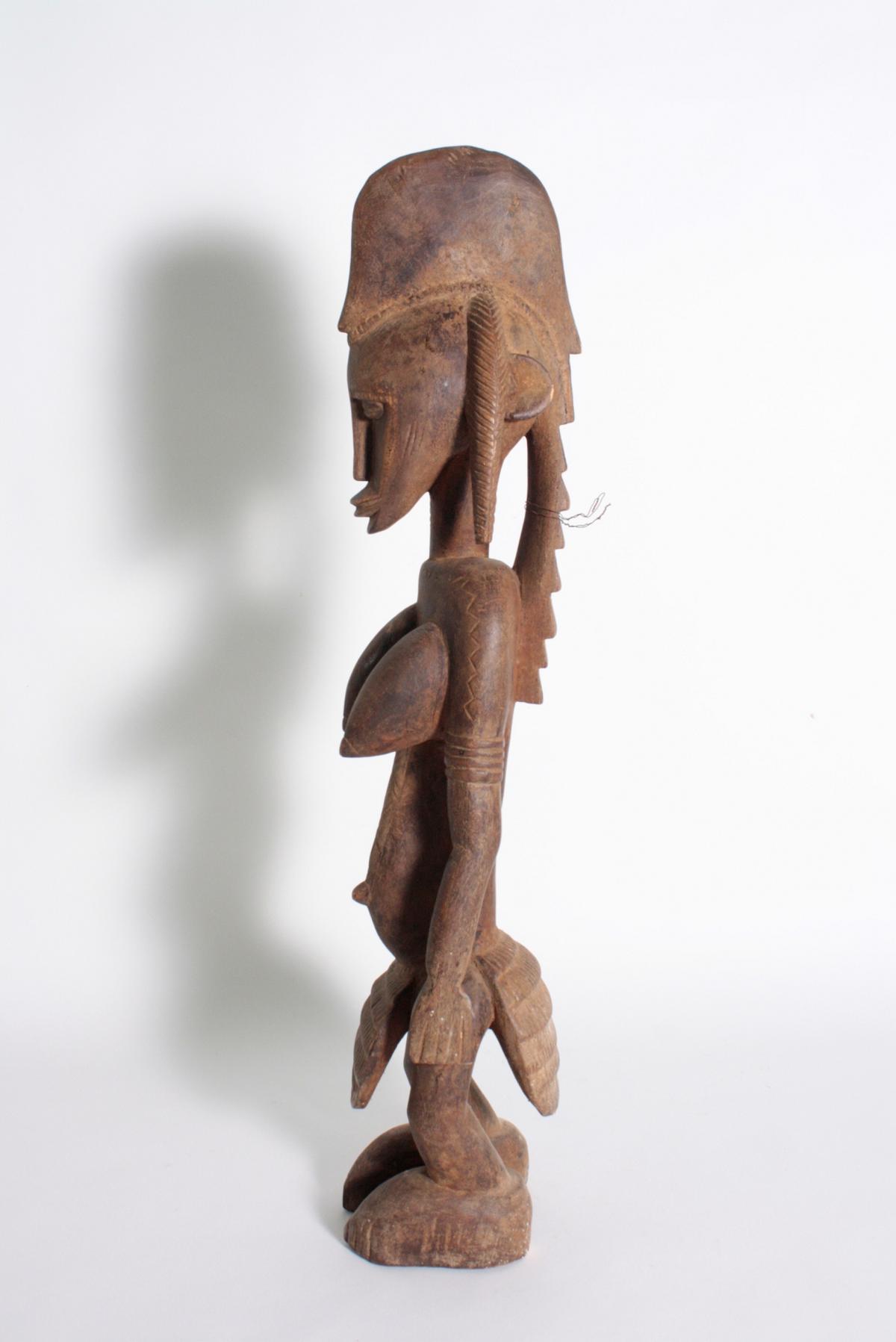 Stehende Frauenfigur, Senufo/Elfenbeinküste, 1. Hälfte 20. Jh.-5