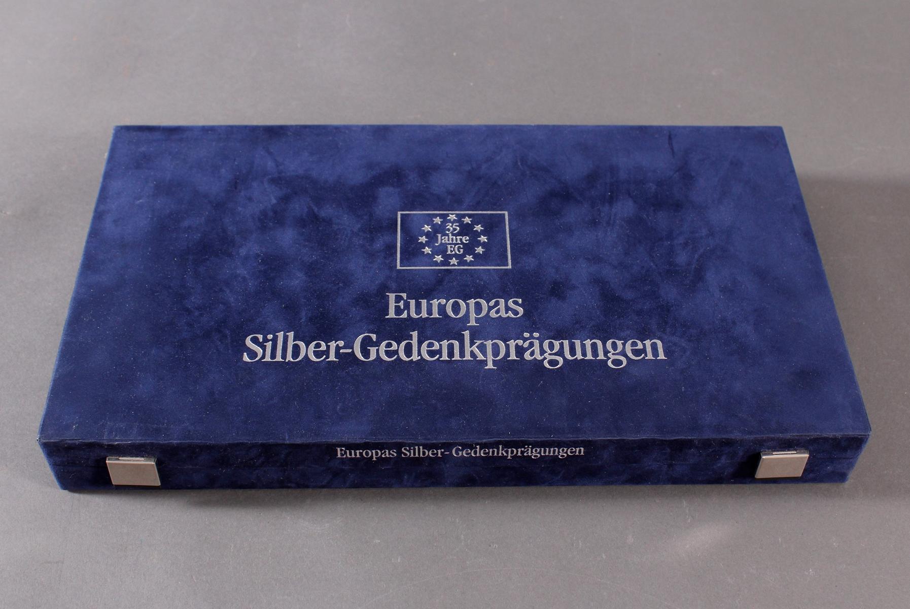 Sammlung Europas Silber Gedenkprägungen