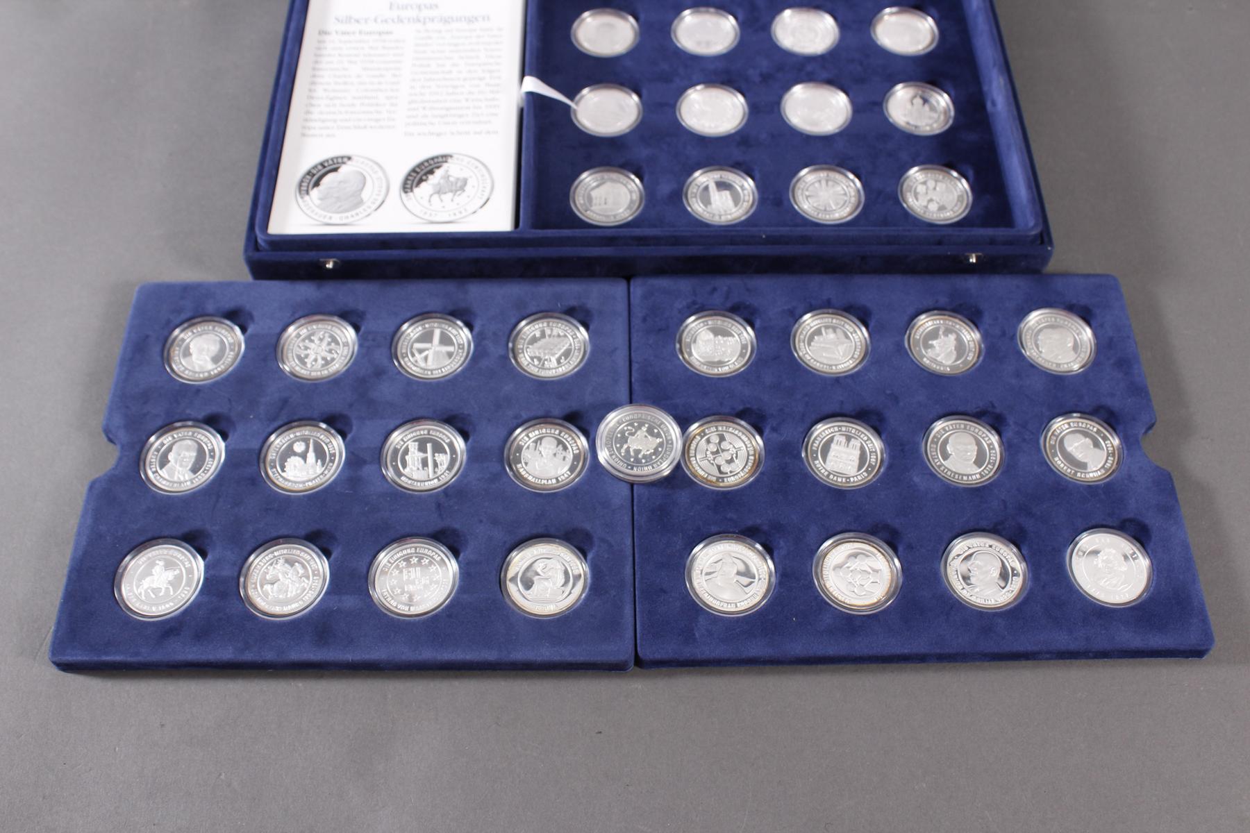 Sammlung Europas Silber Gedenkprägungen-3